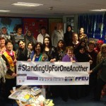Standing up for one another International Women's day with the Chai Ladies in Oldham